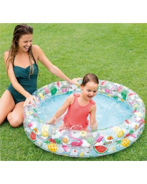"Children's Just So Fruity Inflatable Paddling Pool 48"" x 10"" by Intex"