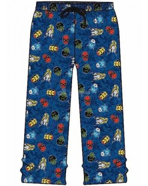 Men's Official Marvel Comics Character Lounge Trouser Pants pyjama-l B12,16