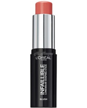 L'Oreal Infallible shaping Blush foundation highlighter in 10 different colour - Brand new.-002 Nude in Rose
