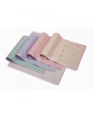 """BLUE CANYON RUBBER BATH MAT in 3 colours - Brand new-cream"