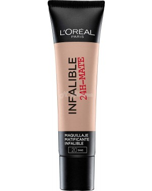 L'Oreal Infallible Mate 24H Foundation 20 Sable Sand - Brand new