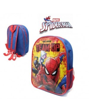 "E29-Official Marvel ""Spider-Man"" Character Junior School Backpack B2 - Brand new."