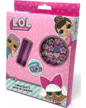 Official L.O.L. Surprise! Character 21pc Bracelet & Charm Set B2- Brand new