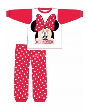 "Official Disney ""Minnie Mouse"" baby girls pyjama nightwear B47-18-24m"