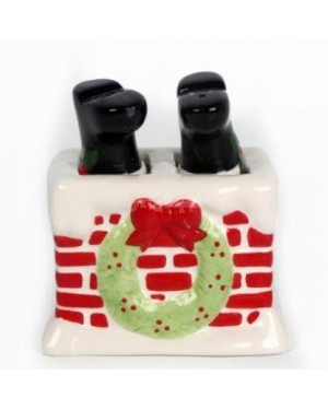 Santa Chimney Salt & Pepper show piece - B31