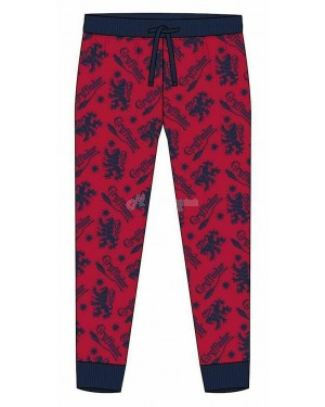 "Men's Official Harry Potter ""Gryffindor"" Character Trouser Lounge Pants - Brand new-Large"