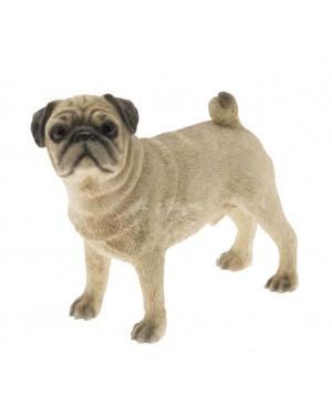 Pug Dog Standing (Small) figurine