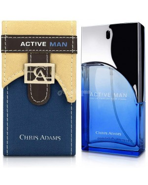 Active Man Men's 100ml Chris Adams perfume Platinum Collection - Brand new