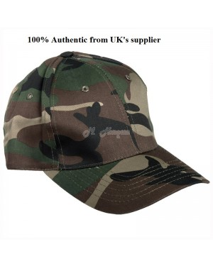 Adults Camouflage 100% Cotton Baseball Peak Cap B-16, s1r2c1