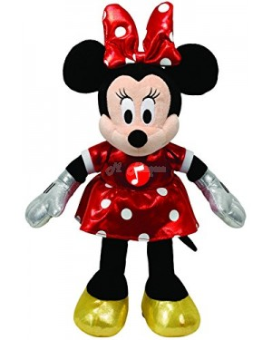 TY Minnie Mouse Red Sparkle, musical toy B11