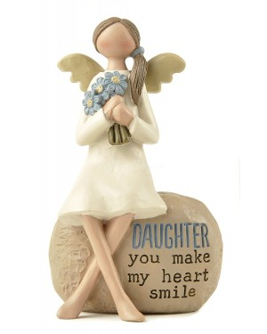 Daughter angel decoration, 10cm house decor - B48