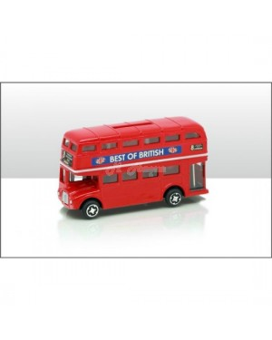 DIE CAST BUS BANK decor b17