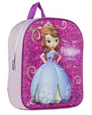 Official Disney Sofia The First 3D EVA Junior School Backpack B25