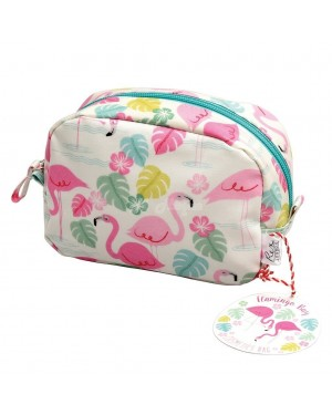 Flamingo Bay Make Up Bag 16cm