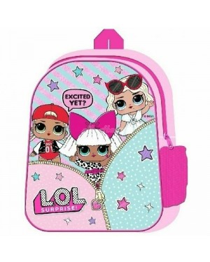 Official L.O.L. Surprise! Character Junior School Backpack B10 - Brand new