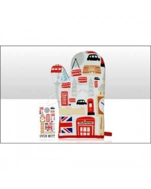 London Icons Oven Mitt b17