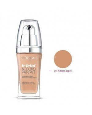 L'Oreal True Match Foundation: D7 Ambre Dore B45