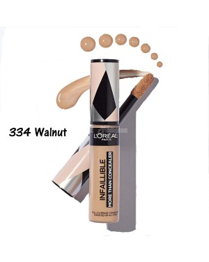 Loreal Infalliable More Than Concealar 334 Walnut - Brand new