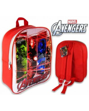 "Official Marvel ""Avengers"" Character Junior School Backpack B23, 29"