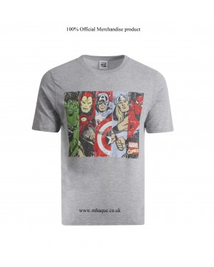 Men's Official Marvel Comics Team Avengers Character T Shirts B16