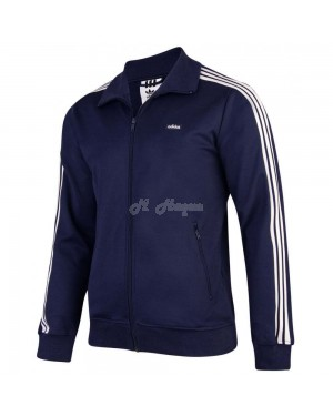 Mens adidas Originals Mens Beckenbauer Track Navy -xl