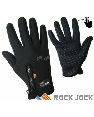 Unisex Sports Activity Touchscreen Fleece Insulated Gloves by RockJock B10 - Brand new