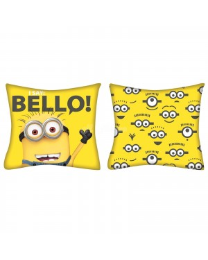 "Official Despicable Me Minion ""Reversible"" 35cm x 35cm Filled Cushion Pillow B13, 23"