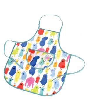 Monsters of The World Children's Apron, S1R5C3