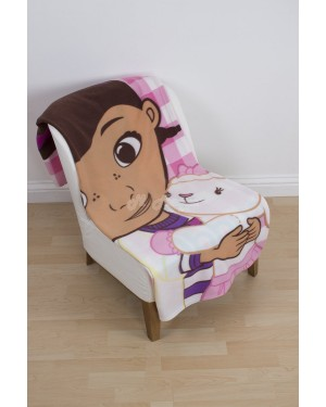 Official Disney Doc McStuffins Character Fleece Blanket Snuggle Throw B5, 16