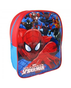 "Official Marvel Ultimate ""Spider-Man"" Character Junior School Backpack - S2R3C3"