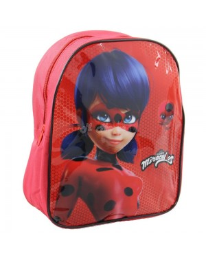 "Official Miraculous ""Ladybug"" Character Junior School Backpack - S2R3C3"