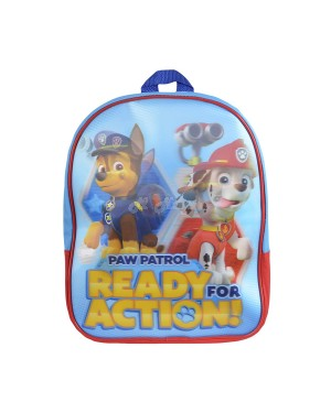 "PWP-8234 Official PAW Patrol ""Ready for Action"" 3D Lenticular Junior School Backpack - S2R3C3"