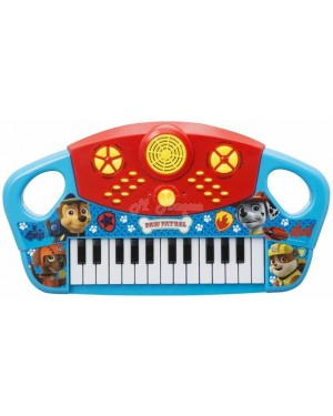 "PWP-3076 Official PAW Patrol ""Chase, Marshall & Rubble"" 25 Key Electronic Keyboard Piano - B33"