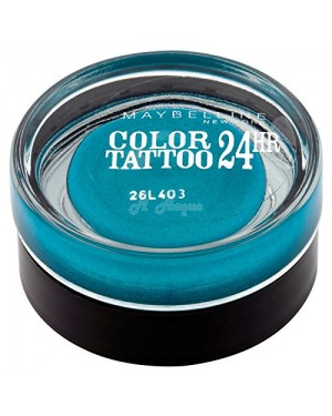 Maybelline Color Tattoo Eyeshadow 20-Turquoise Forever - B45