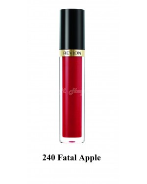Revlon Super Lustrous Lip Gloss in 6 colour B46-240 Fatal Apple