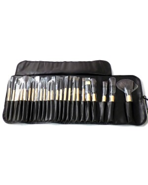 London Pride Make-Up Brush Set (24 Brushes) - Black B46