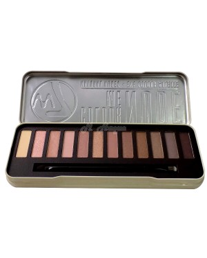 W7 Colour Me Nude Natural Nudes Eye Colour Palette. CMN