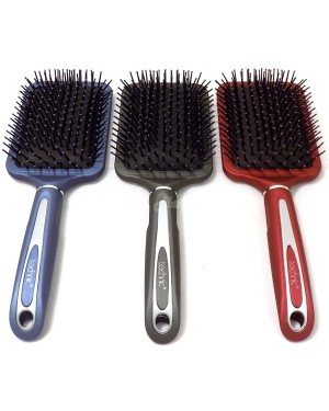 Technic Paddle Hairbrushes Black ( 21301) B46