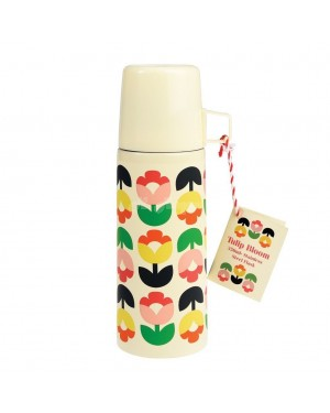 Tulip Bloom Flask and Cup ABS2