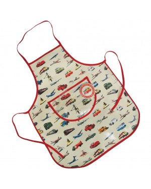 VINTAGE TRANSPORT APRON FOR CHILDREN S2R1C3
