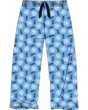 Men's Official Manchester City FC Football Team Club Lounge Trouser Pants - Brand new-X-Large